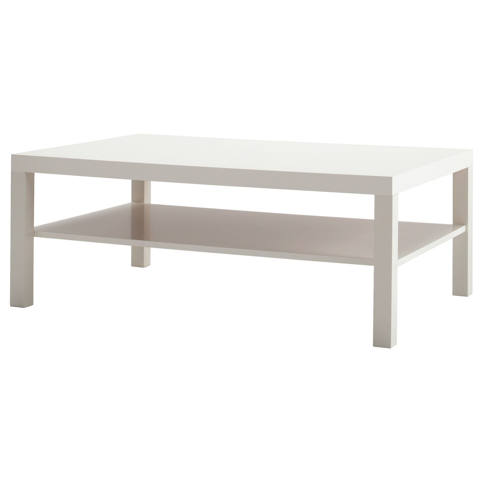 Lack Coffee Table - White - Ikea with Red Gloss Coffee Tables (Image 12 of 30)