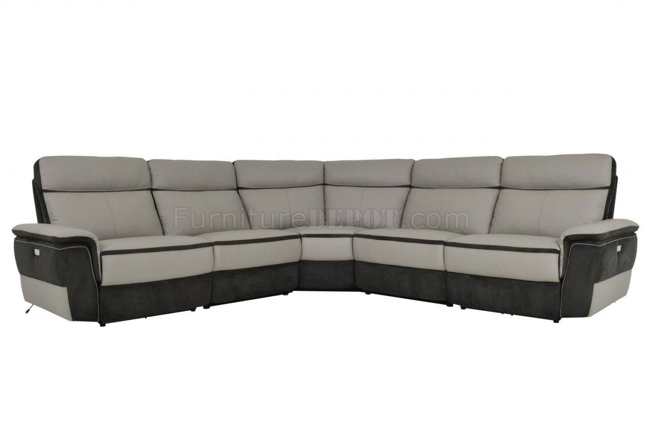 Laertes Power Motion Sectional Sofahomelegance intended for Leather Motion Sectional Sofa (Image 15 of 25)