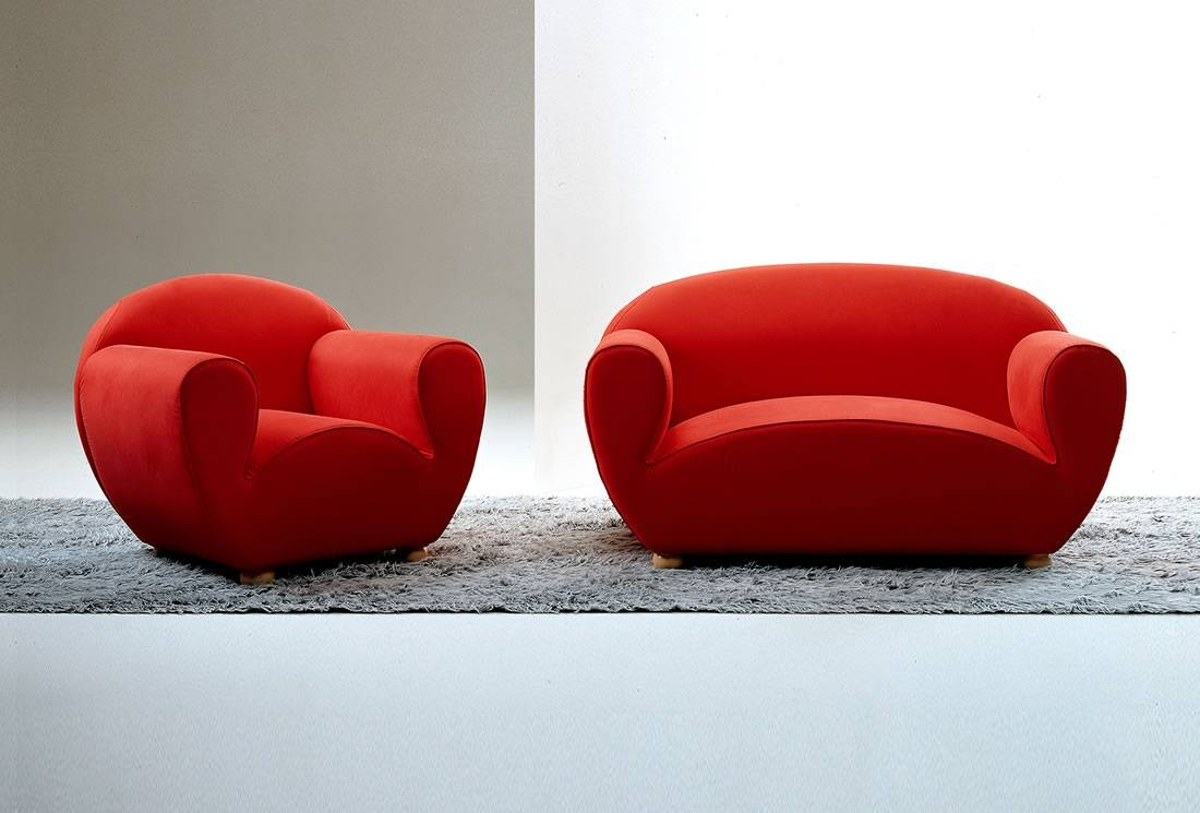 L´agostina Sofa Chair – 29 > Sofas & Sectionals > Products | Vero Pertaining To Chair Sofas (View 12 of 30)