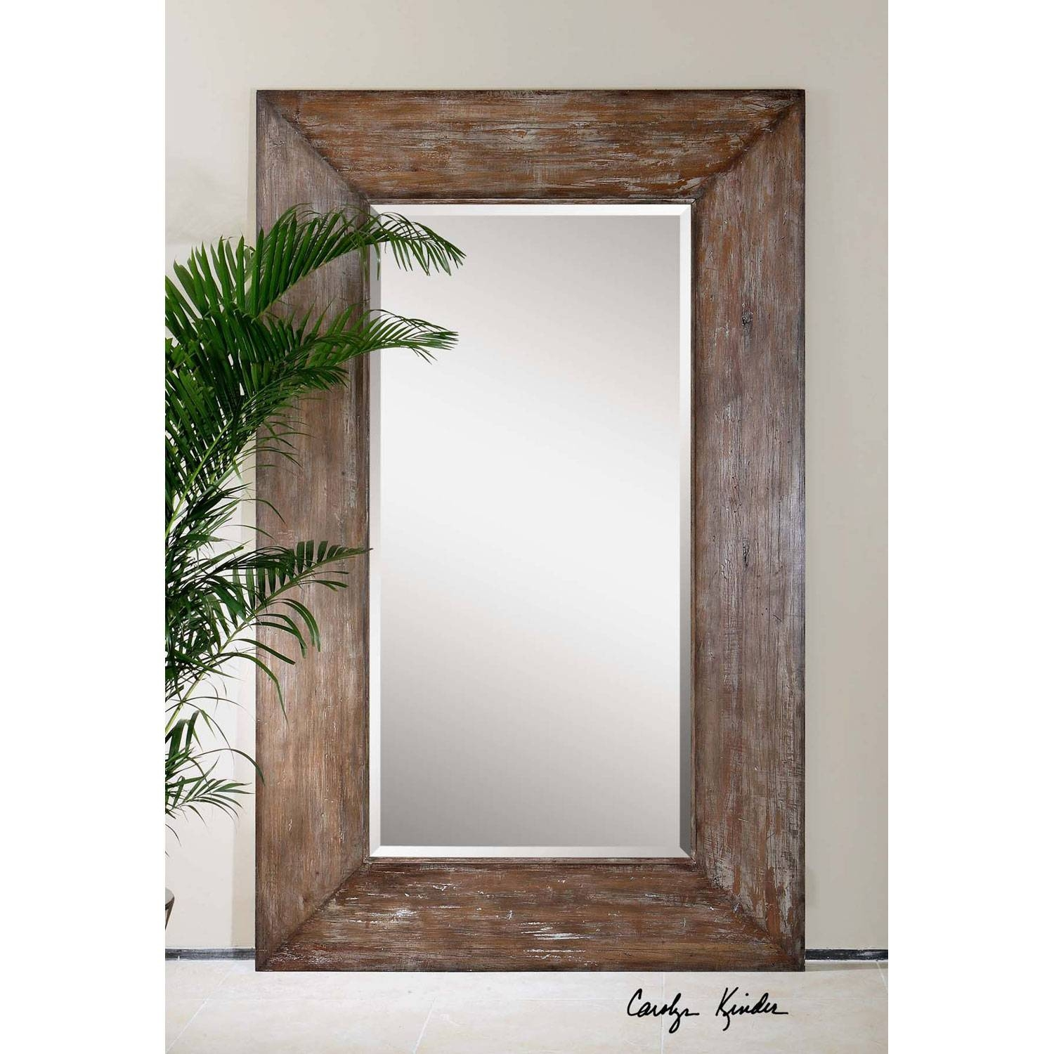Langford Large Mirror Uttermost Wall Mirror Mirrors Home Decor in Large Mirrors (Image 16 of 25)