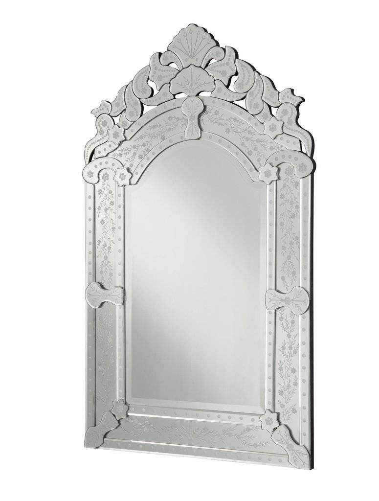 Lanzara 25-Inch Venetian Style Wall Mirror Ym-701-2541 | | Chans for Venetian Style Wall Mirrors (Image 13 of 25)