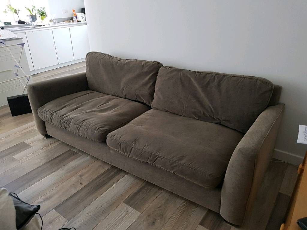 Large 4 Seater Sofa | In Hatfield, Hertfordshire | Gumtree within Large 4 Seater Sofas (Image 23 of 30)