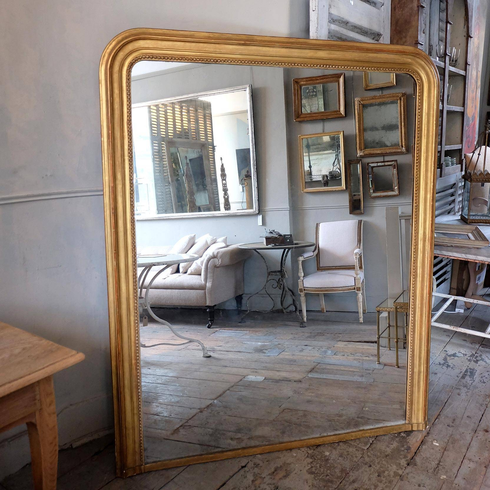 Large Antique Gilt Mirror › Puckhaber Decorative Antiques pertaining to Antique Gilt Mirrors (Image 23 of 25)