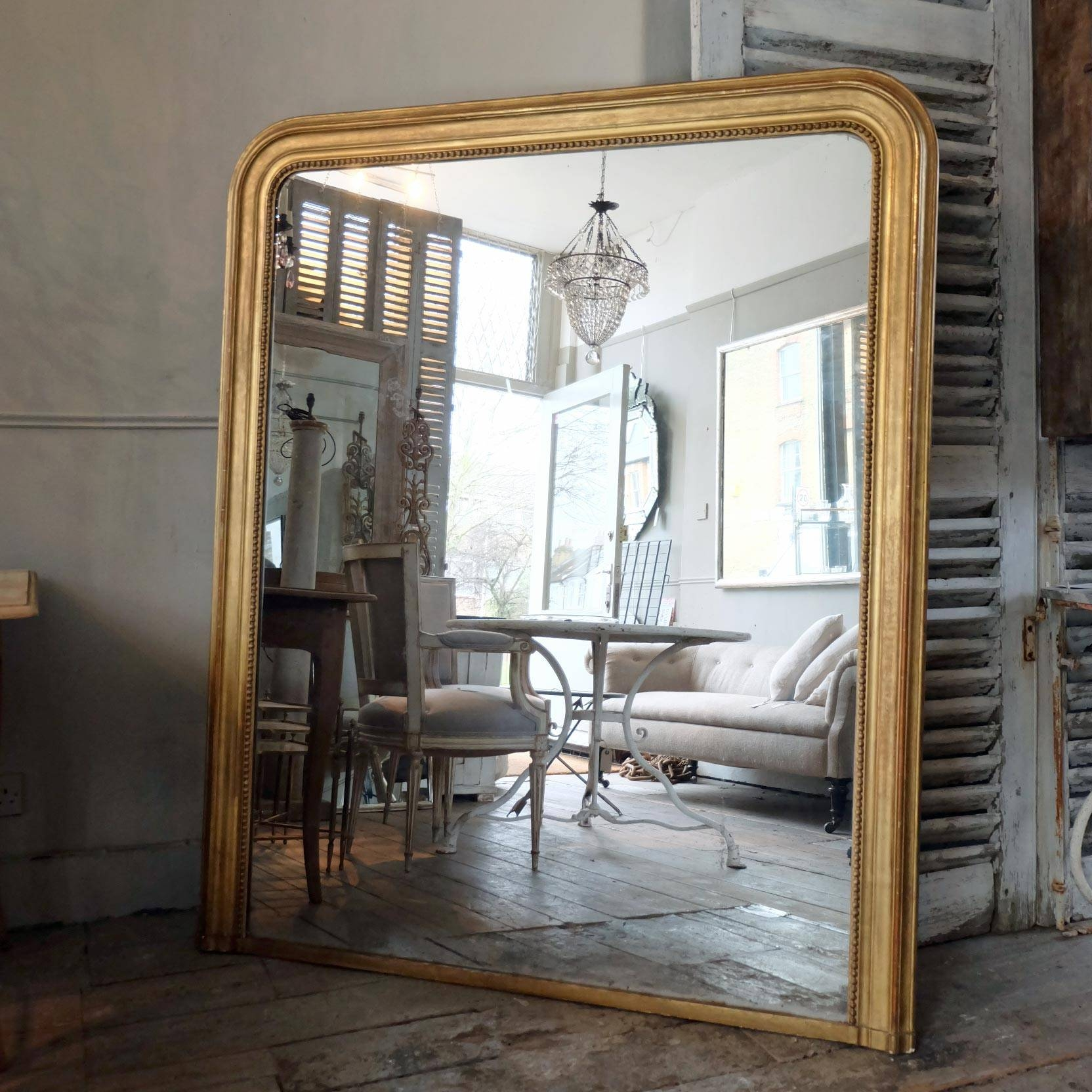 Large Antique Gilt Mirror › Puckhaber Decorative Antiques with regard to Antique Gilt Mirrors (Image 24 of 25)