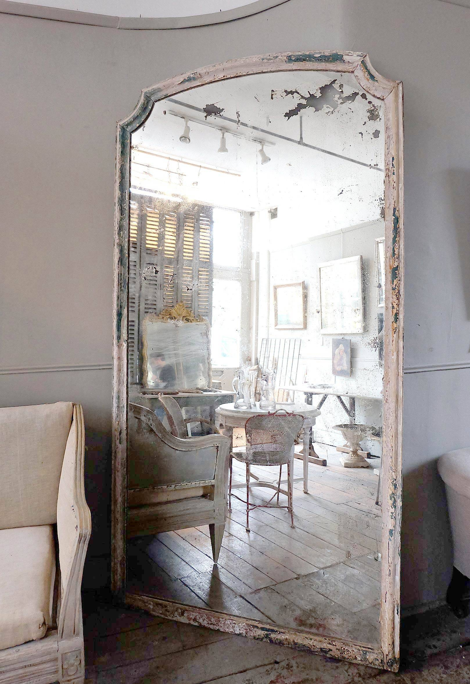Large Antique Italian Mirror › Puckhaber Decorative Antiques within Large Antiqued Mirrors (Image 13 of 25)