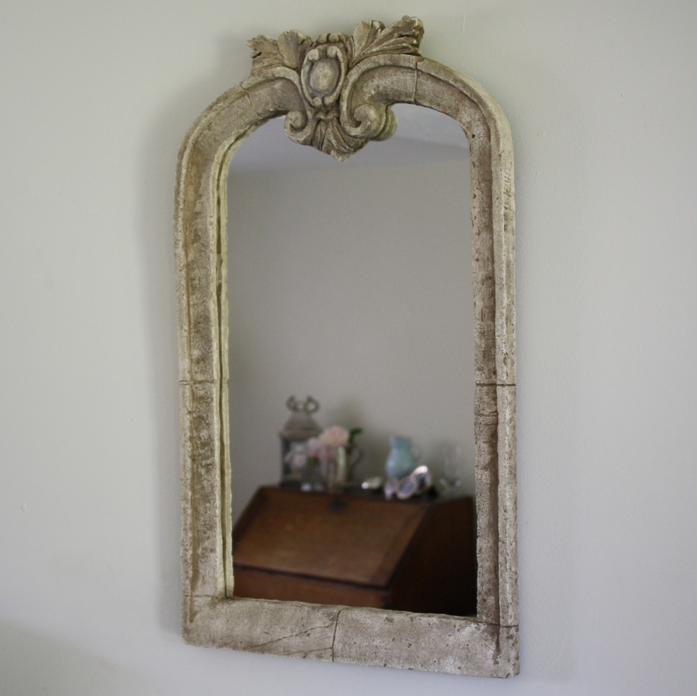 Large Baroque Stone Mirror | Mirrors | Furniture within Large Baroque Mirrors (Image 19 of 25)