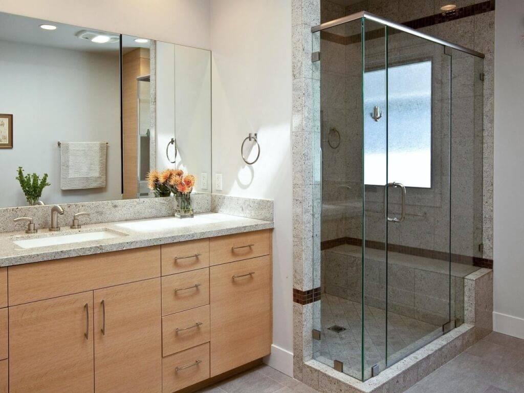 Large Bathroom Mirror Frameless – Harpsounds.co inside Large Frameless Mirrors (Image 15 of 25)