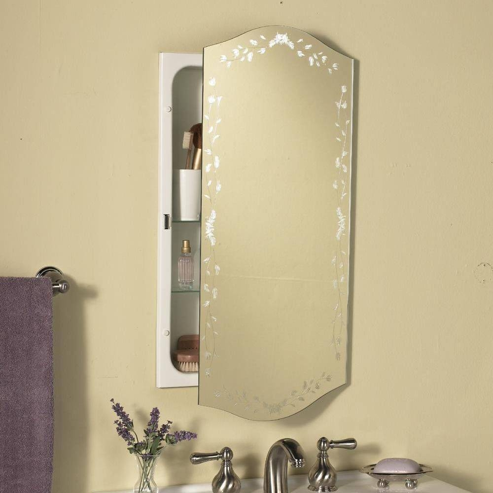 Large Bathroom Mirrors Which Are With Trends And Washbasin Mirror intended for Large Ornate White Mirrors (Image 14 of 25)