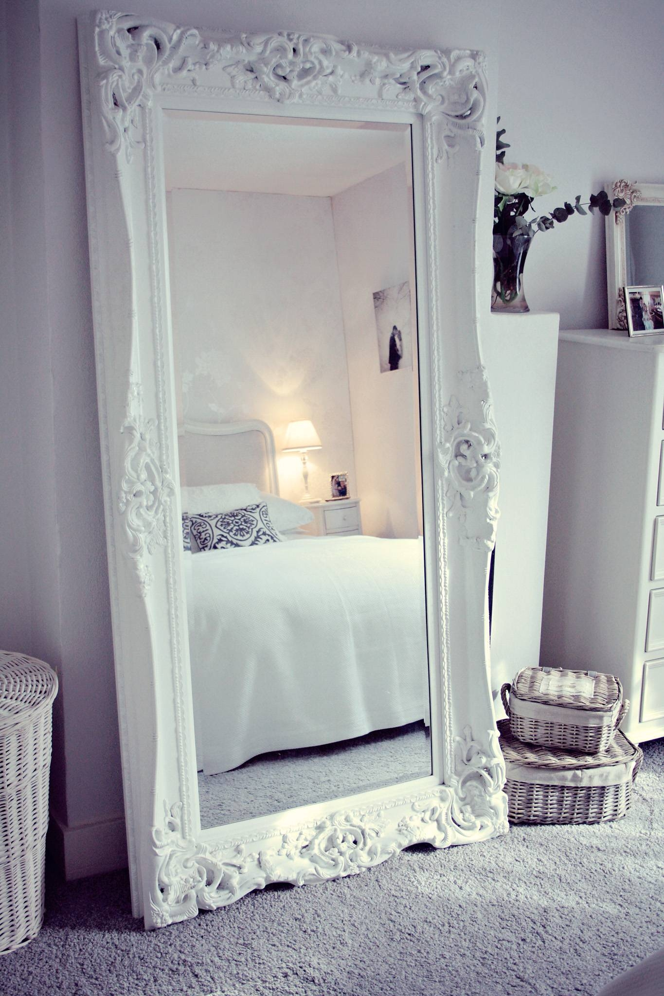 Large Bedroom Mirror within Massive Wall Mirrors (Image 13 of 25)