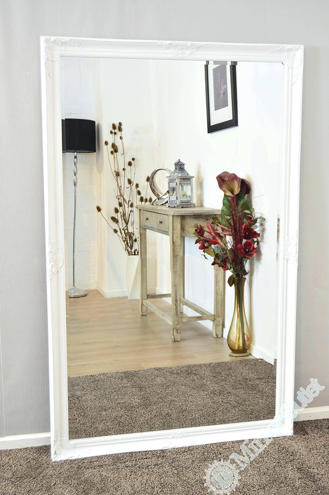 Large Beveled Mirrors For Living Roomlarge Full Length Mirror Ebay regarding Full Length Large Mirrors (Image 21 of 25)