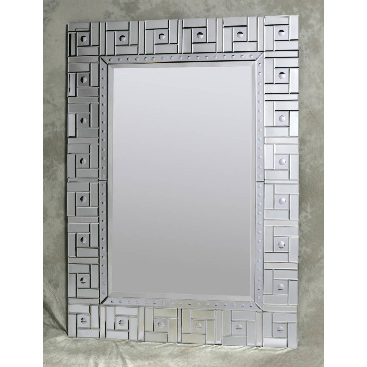 Large Clear Square Detail Venetian Mirror – Nicholas John Interiors With Square Venetian Mirrors (View 16 of 25)