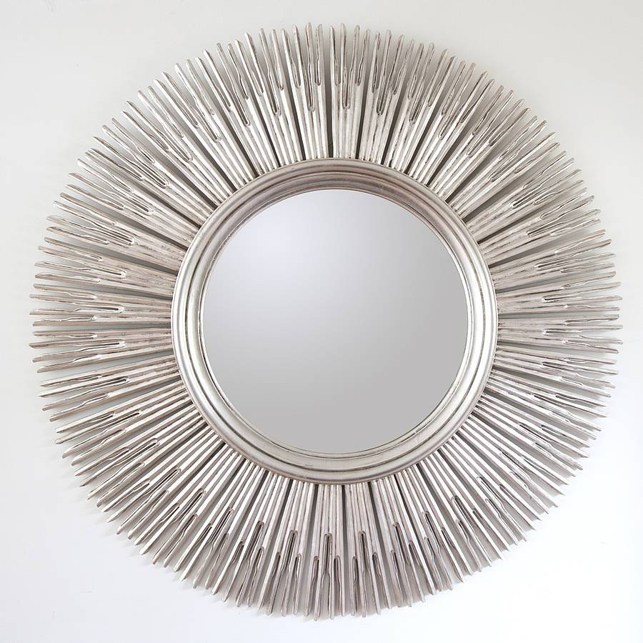 Large Contemporary Mirrors Mirrors Gold Edged Frame Aztec pertaining to Modern Mirrors (Image 15 of 25)