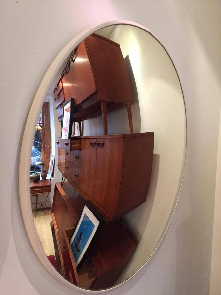 Large Convex Mirror, 1970S For Sale At Pamono regarding Large Convex Mirrors (Image 11 of 25)