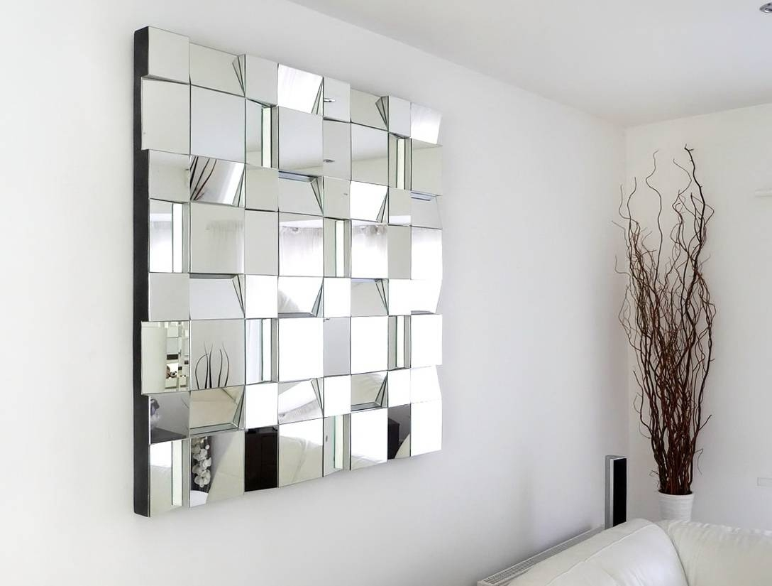 Large Decorative Wall Mirror | Gen4Congress intended for Fancy Wall Mirrors (Image 13 of 25)