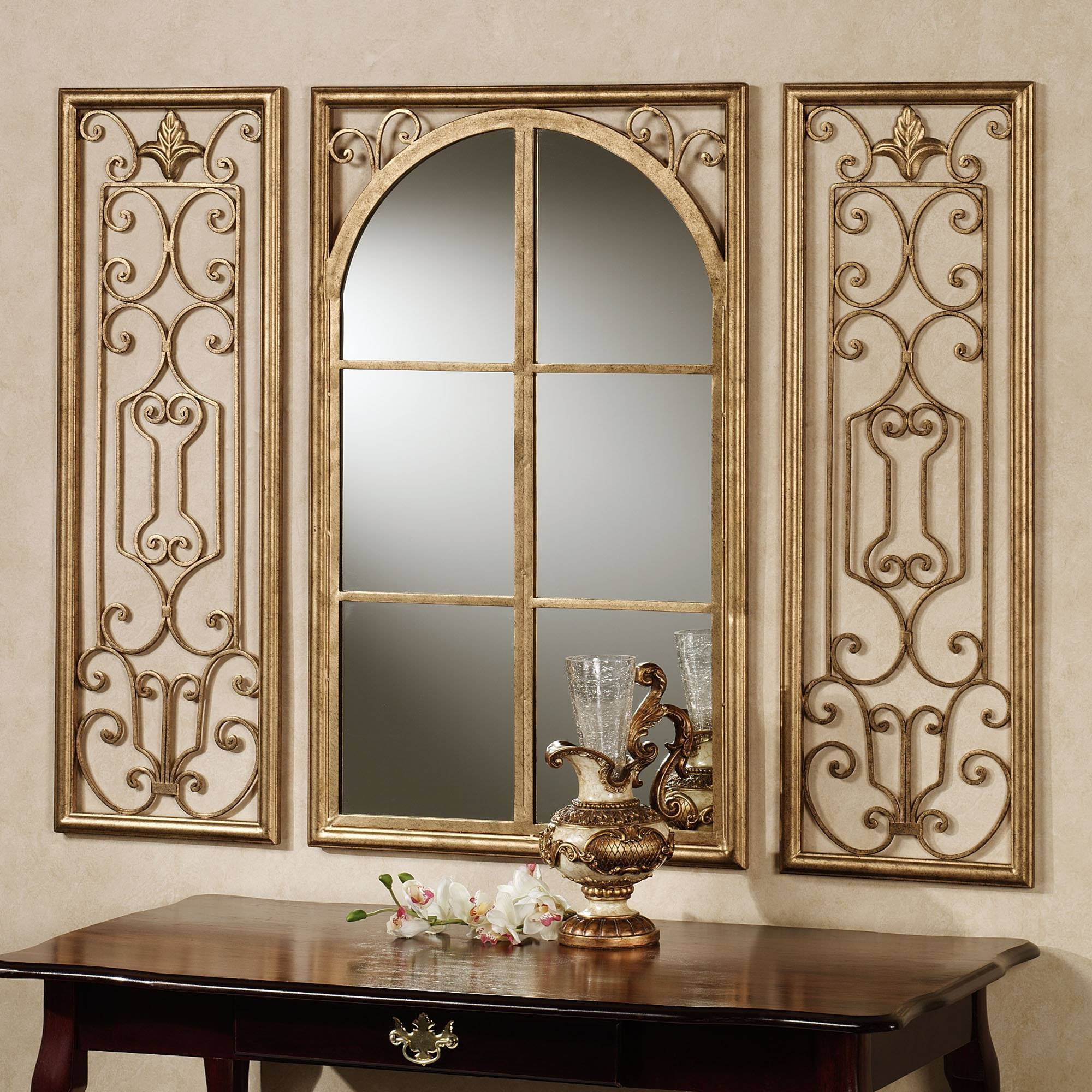 Large Decorative Wall Mirrors | Decorating Ideas with regard to Cream Ornate Mirrors (Image 10 of 25)