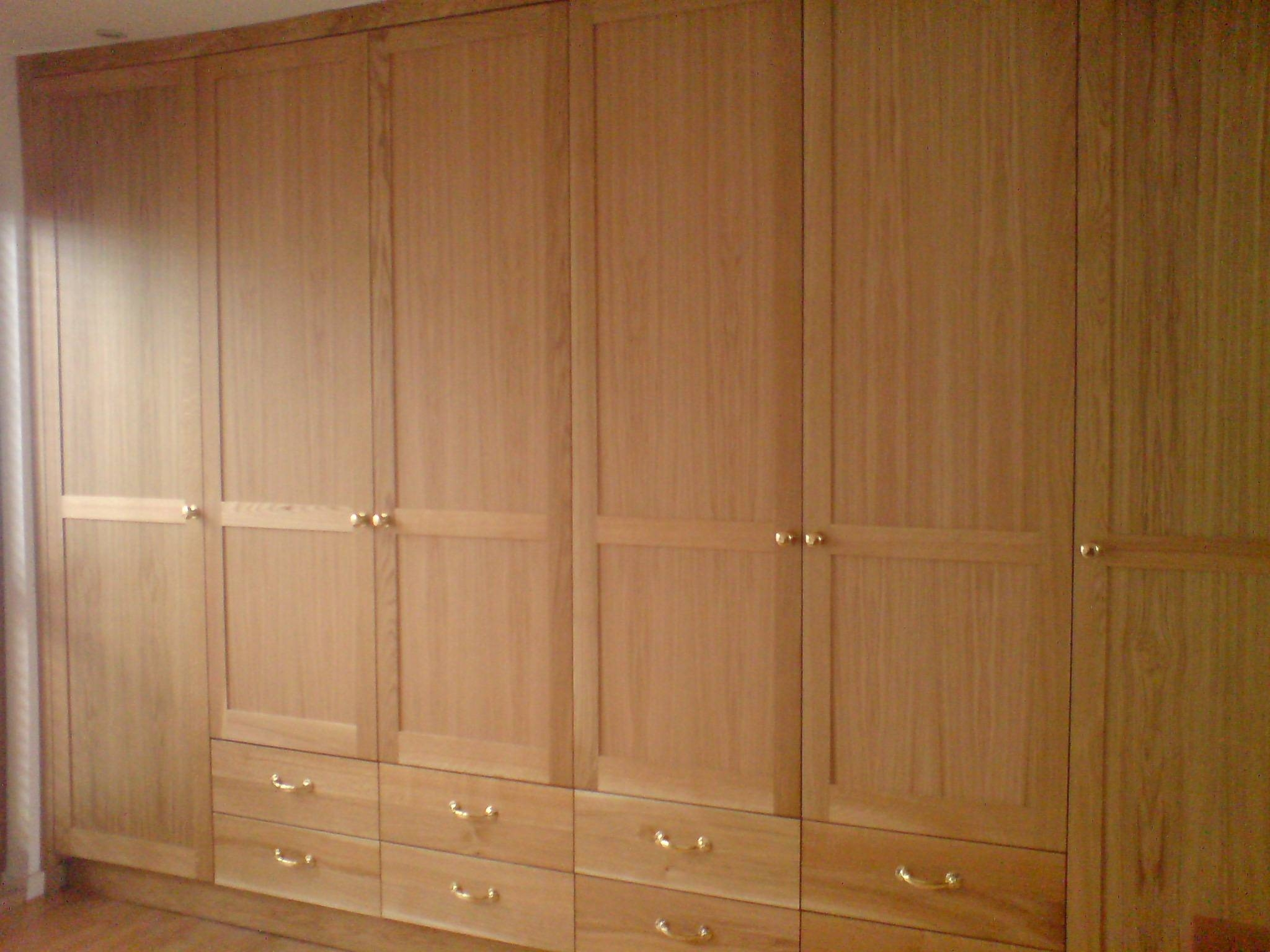Large Fitted Oak Wardrobes | Jane Bartlett Furniture pertaining to Large Oak Wardrobes (Image 3 of 15)
