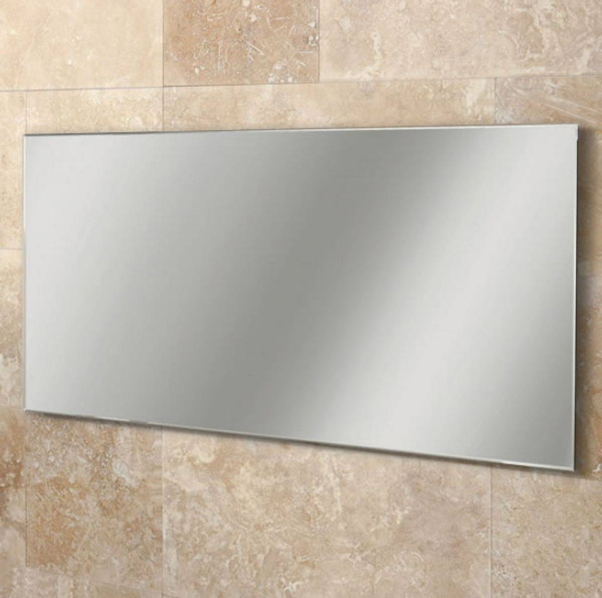 Large Frameless Bathroom Mirror Collection And Mirrors Bath The with Large Frameless Mirrors (Image 16 of 25)