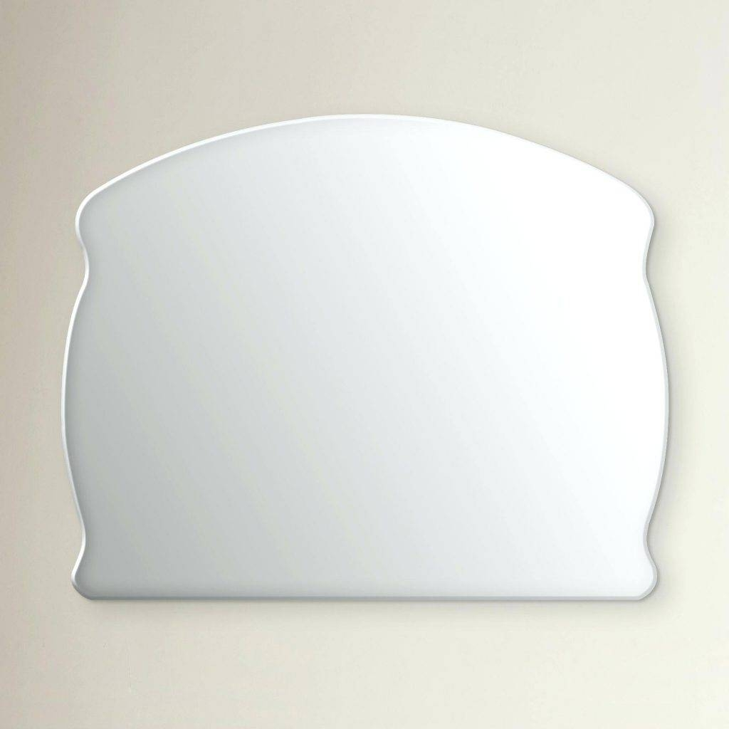 Large Frameless Rectangular Wall Mirror Full Length Silver throughout Full Length Frameless Wall Mirrors (Image 13 of 25)