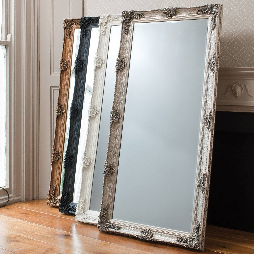 Large Free Standing Mirror – Harpsounds.co within Free Standing Mirrors With Drawer (Image 22 of 25)