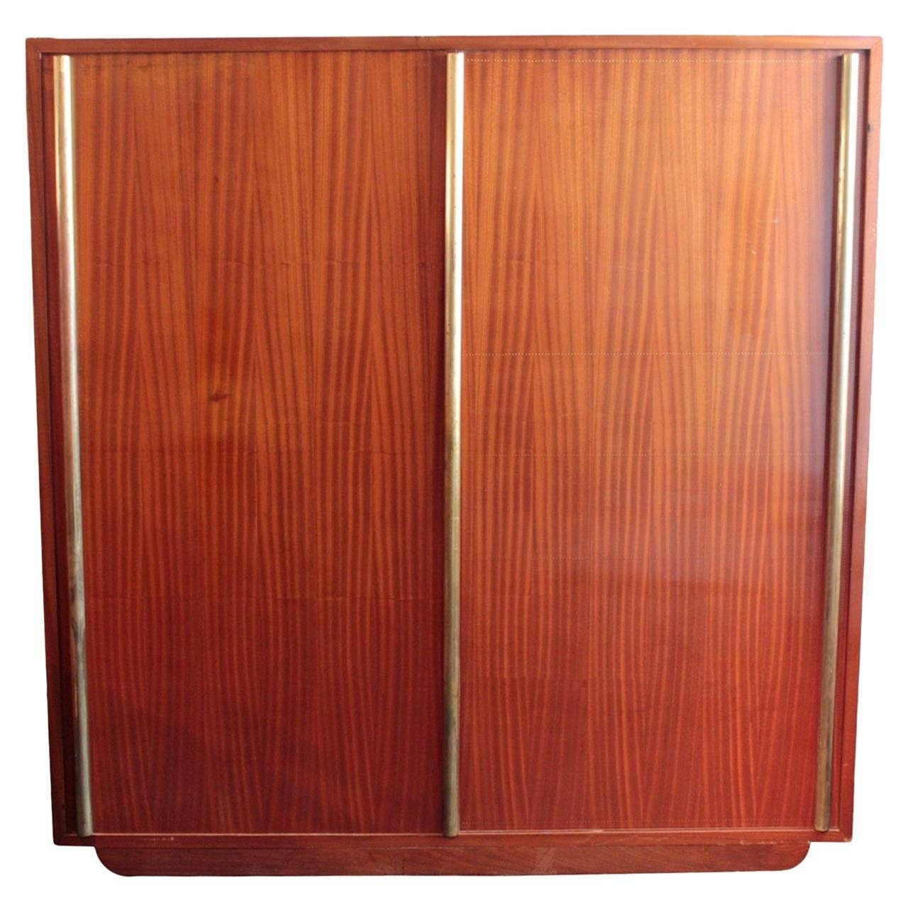 Large French Art Moderne Armoireandre Sornay For Sale At 1Stdibs for French Wardrobes For Sale (Image 13 of 15)