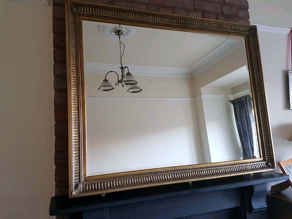 Large Gilt-Edged Mirror | In Brislington, Bristol | Gumtree for Gilt Edged Mirrors (Image 13 of 25)