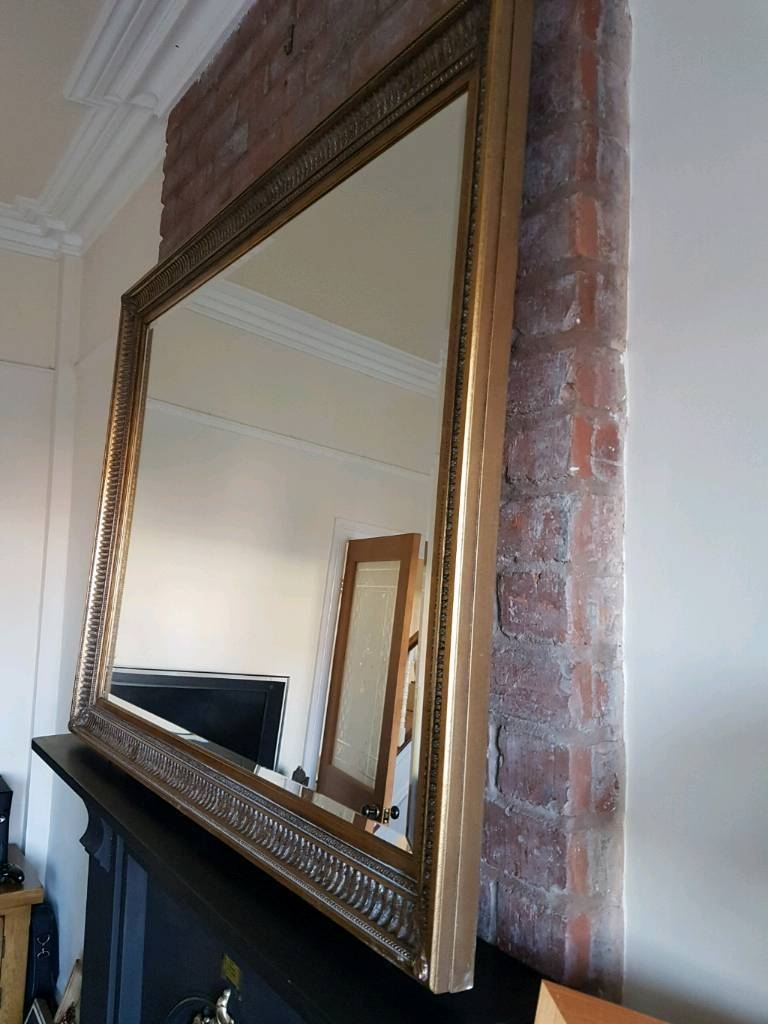 Large Gilt-Edged Mirror | In Brislington, Bristol | Gumtree with regard to Gilt Edged Mirrors (Image 14 of 25)