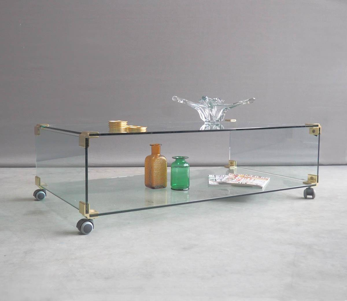 30 Best Collection Of Glass Coffee Tables With Casters
