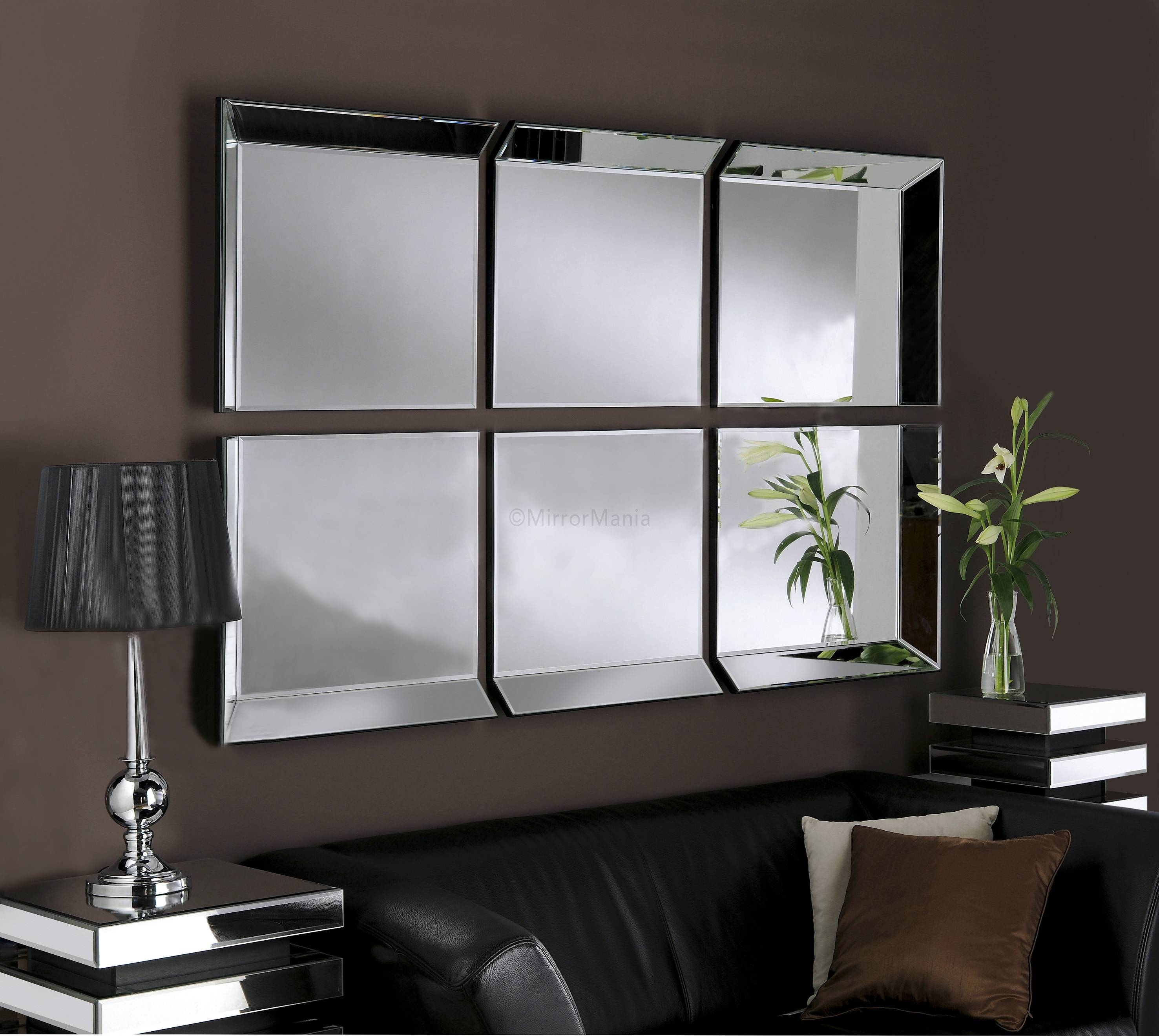 Large Glass Bevelled Wall Mirror – Harpsounds.co in Bevelled Mirrors (Image 20 of 25)