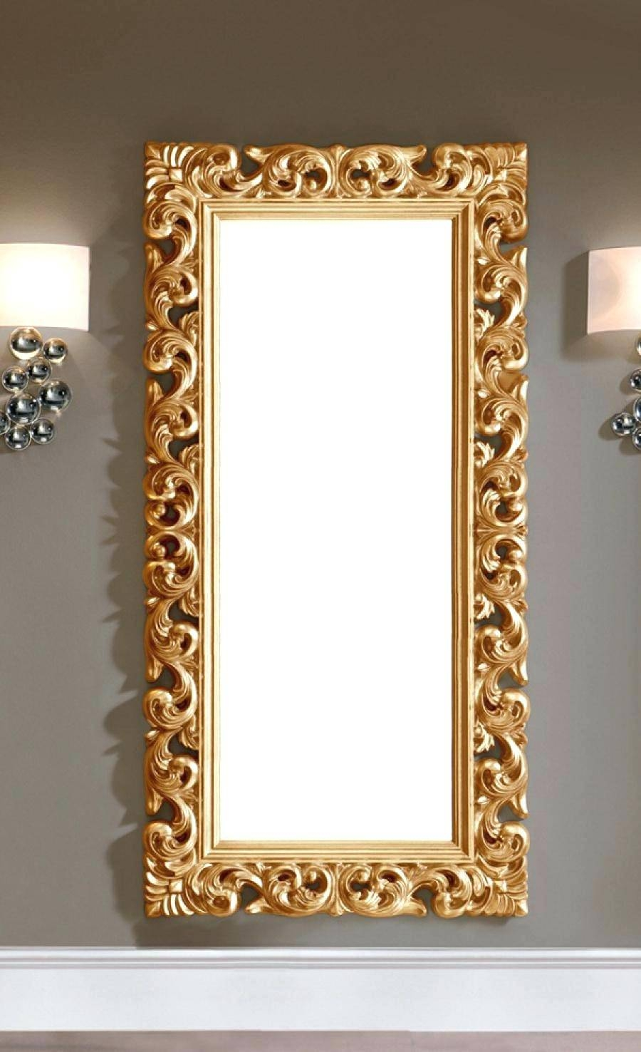 Large Gold Mirror – Amlvideo intended for Ornate Gold Mirrors (Image 19 of 25)
