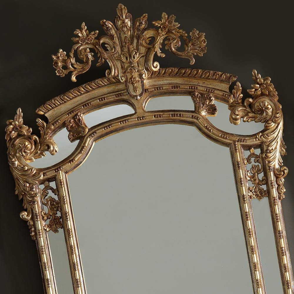 Large Gold Rococo Wall Mirror | Juliettes Interiors - Chelsea, London within Gold Rococo Mirrors (Image 21 of 25)