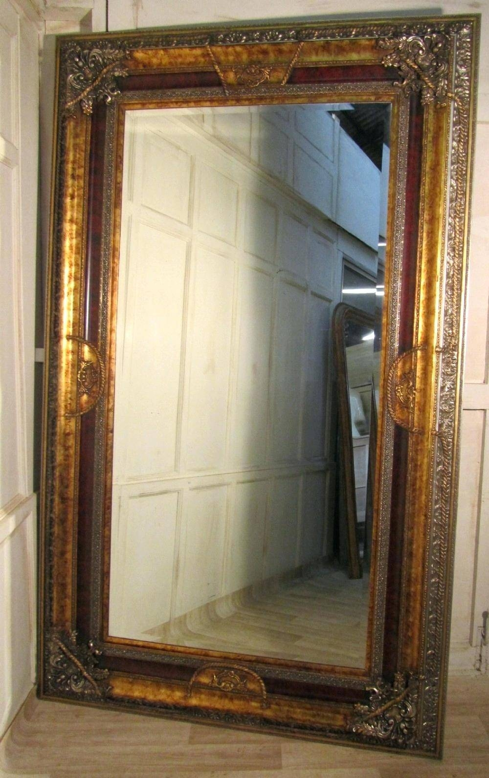 25 Inspirations Of Large Antique Gold Mirrors