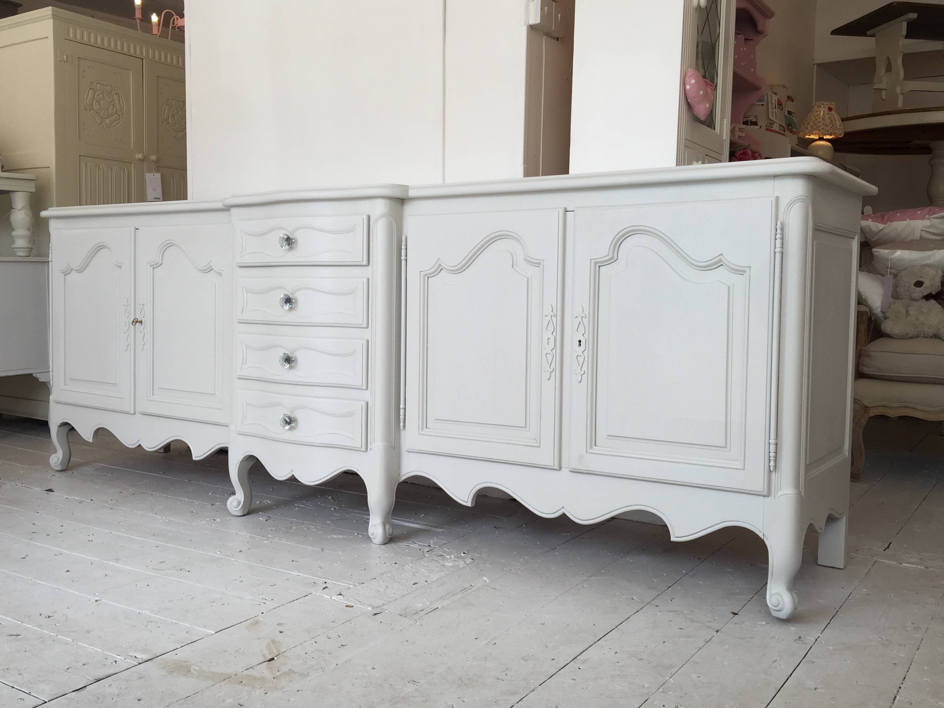 Large Impressive French Style Sideboard - Home Sweet Homehome in French Style Sideboards (Image 21 of 30)