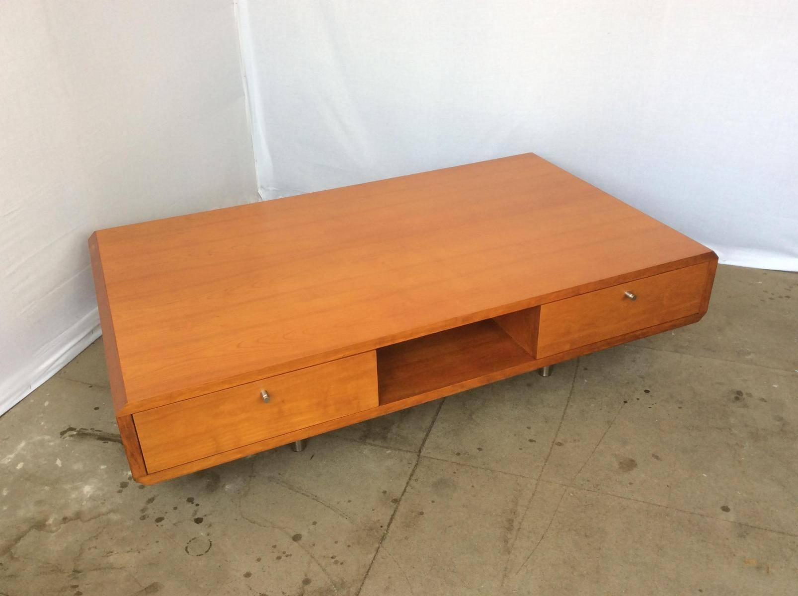 Large Low Modular Four Drawer Coffee Table, 1980S For Sale At Pamono pertaining to Low Coffee Tables With Drawers (Image 21 of 30)