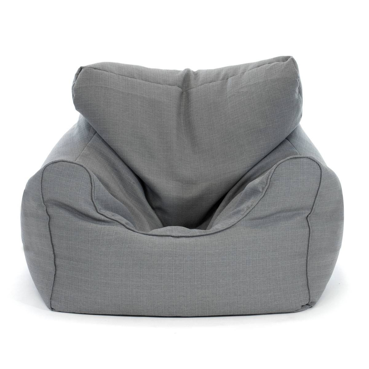 Large Luxury Bean Bag Cover Armchair Beanbag Sofa/chair Armrest with Bean Bag Sofa Chairs (Image 15 of 15)