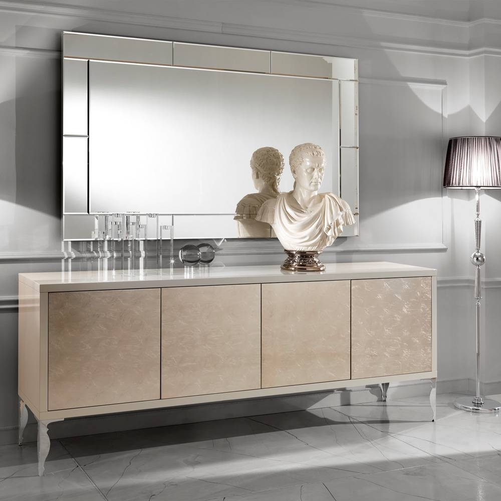 Large Luxury Contemporary Italian Venetian Mirror | Juliettes in Venetian Sideboard Mirrors (Image 11 of 25)