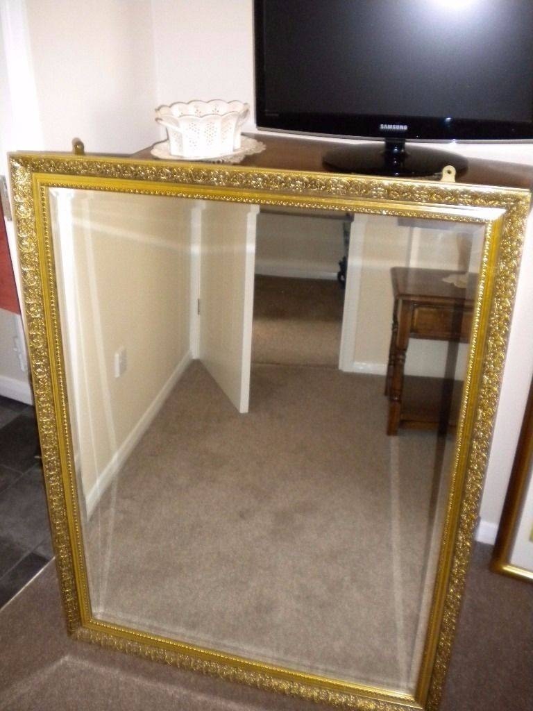 Large Mirror - Gilt Edged Frame | In Wakefield, West Yorkshire inside Gilt Edged Mirrors (Image 18 of 25)