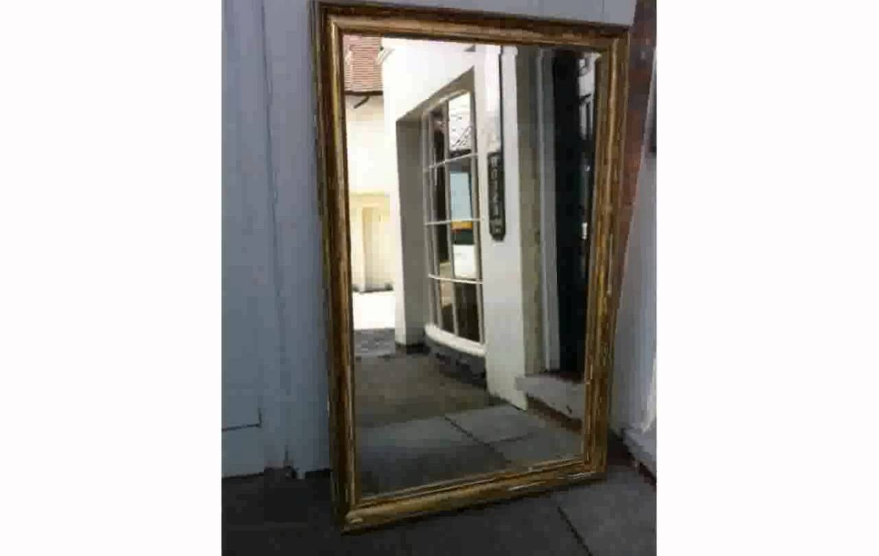 Large Mirrors For Wall - Youtube throughout Large Mirrors (Image 19 of 25)
