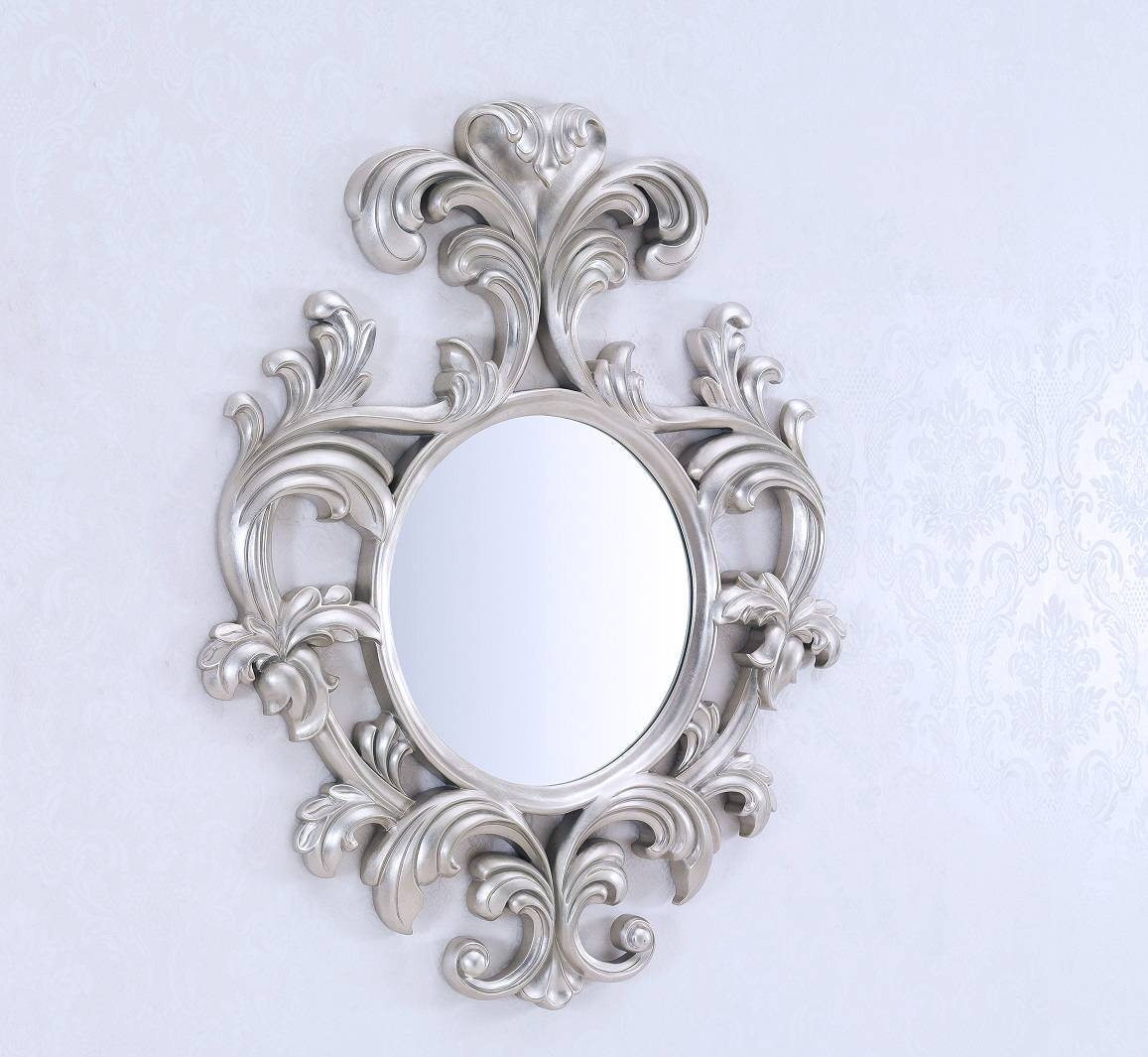 Large Ornate Decorative Wall Mirror — Office And Bedroomoffice And in Ornate Round Mirrors (Image 12 of 25)