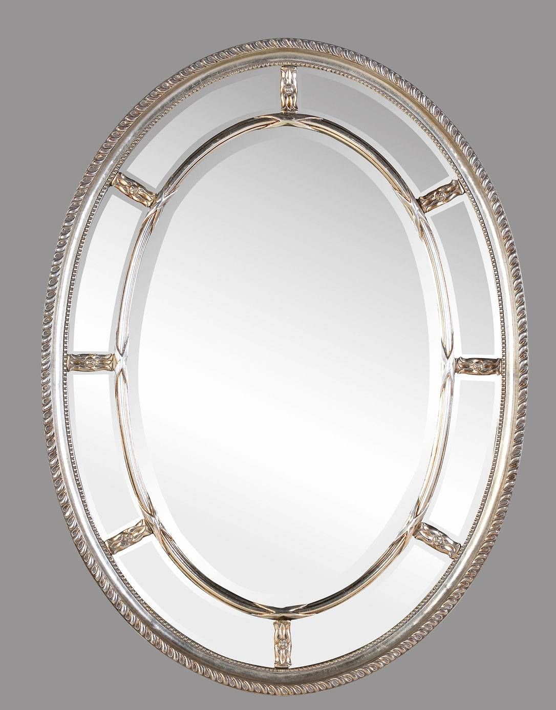 Large Oval Bathroom Mirrors : Brightpulse with regard to Silver Oval Wall Mirrors (Image 13 of 25)