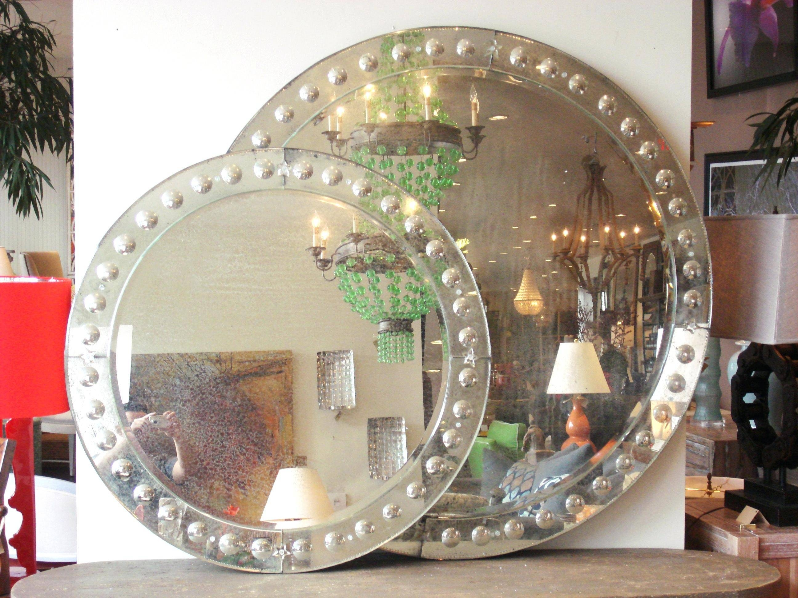 Large Round Mirror – Shopwiz intended for Large Round Mirrors (Image 12 of 25)
