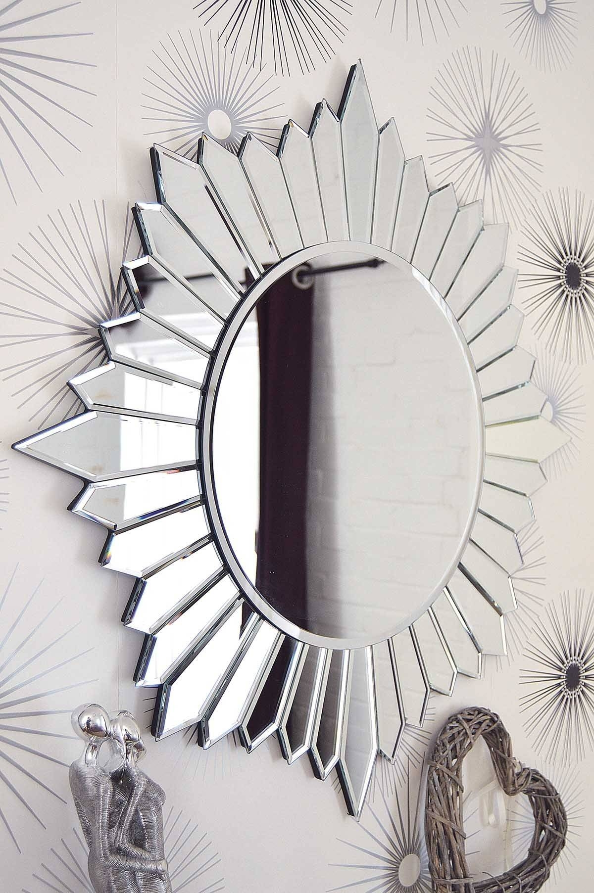Large Round Wall Mirror 140 Cute Interior And Black Round Wall for Round Large Mirrors (Image 15 of 25)