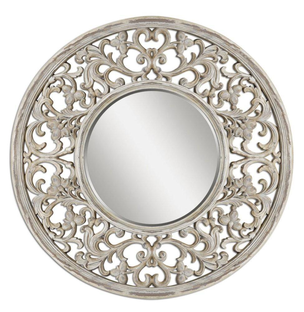 Large Round Wall Mirror 140 Cute Interior And Black Round Wall Regarding Large Circle Mirrors (View 22 of 25)