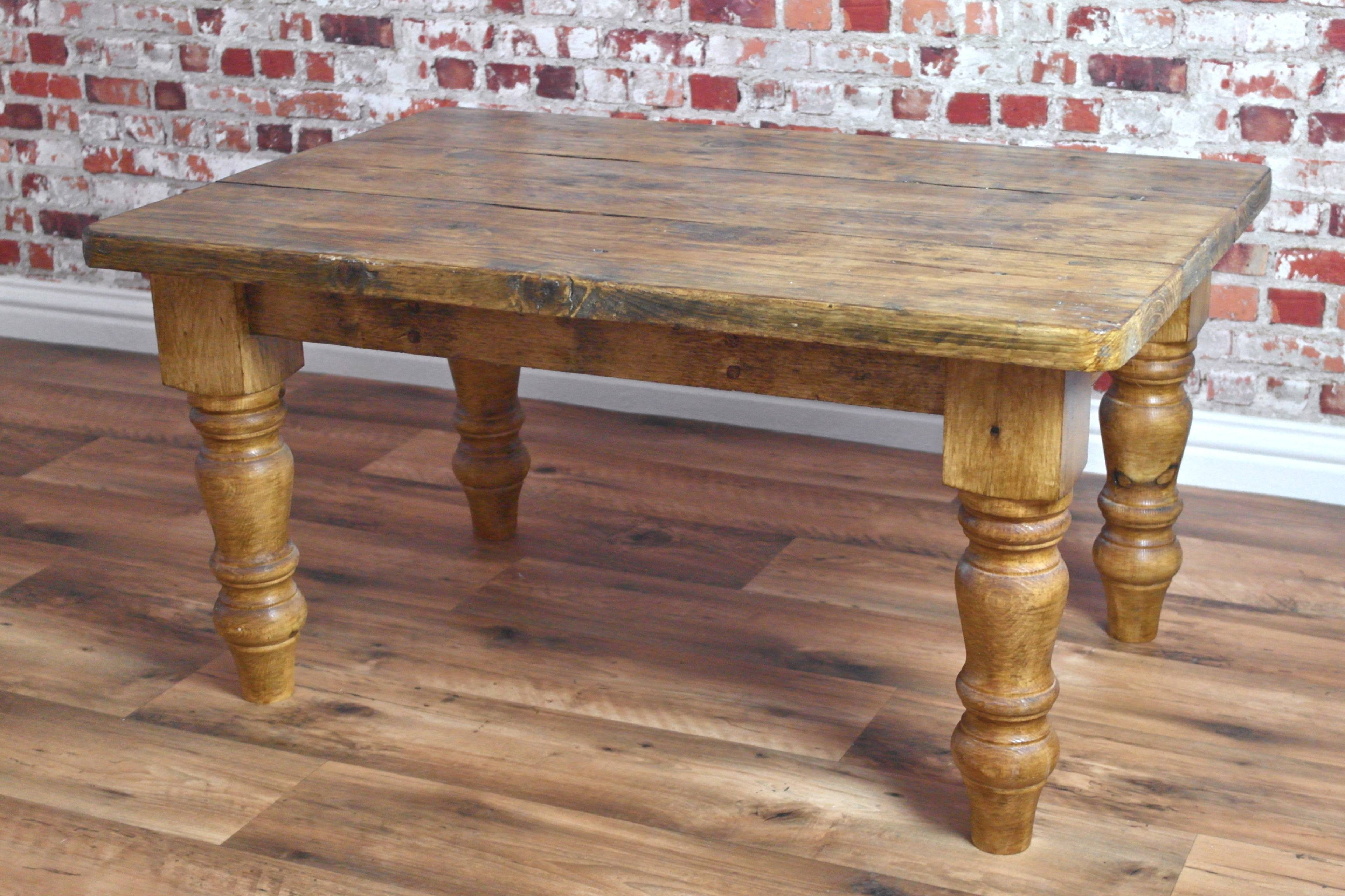 Large Rustic Coffee Table – Rustic Coffee Tables On Pinterest with regard to Old Pine Coffee Tables (Image 14 of 30)