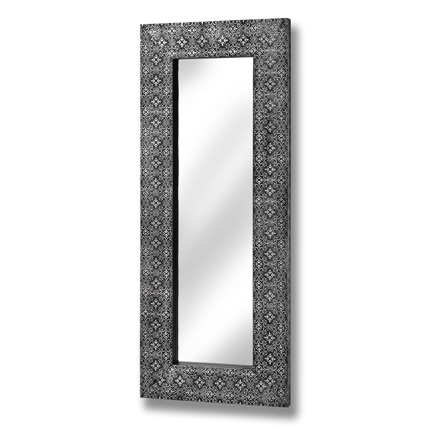Large, Small, Floor, Vanity & Dressing Table Mirrors | Melody pertaining to Tall Silver Mirrors (Image 15 of 25)