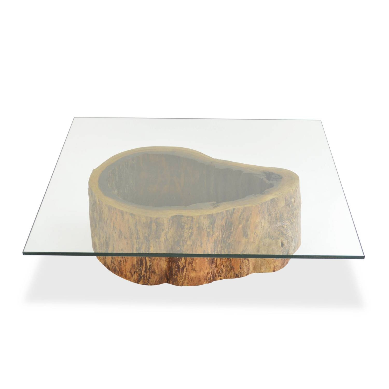 Large Square Glass Coffee Table / Coffee Tables / Thippo within Large Square Glass Coffee Tables (Image 21 of 30)