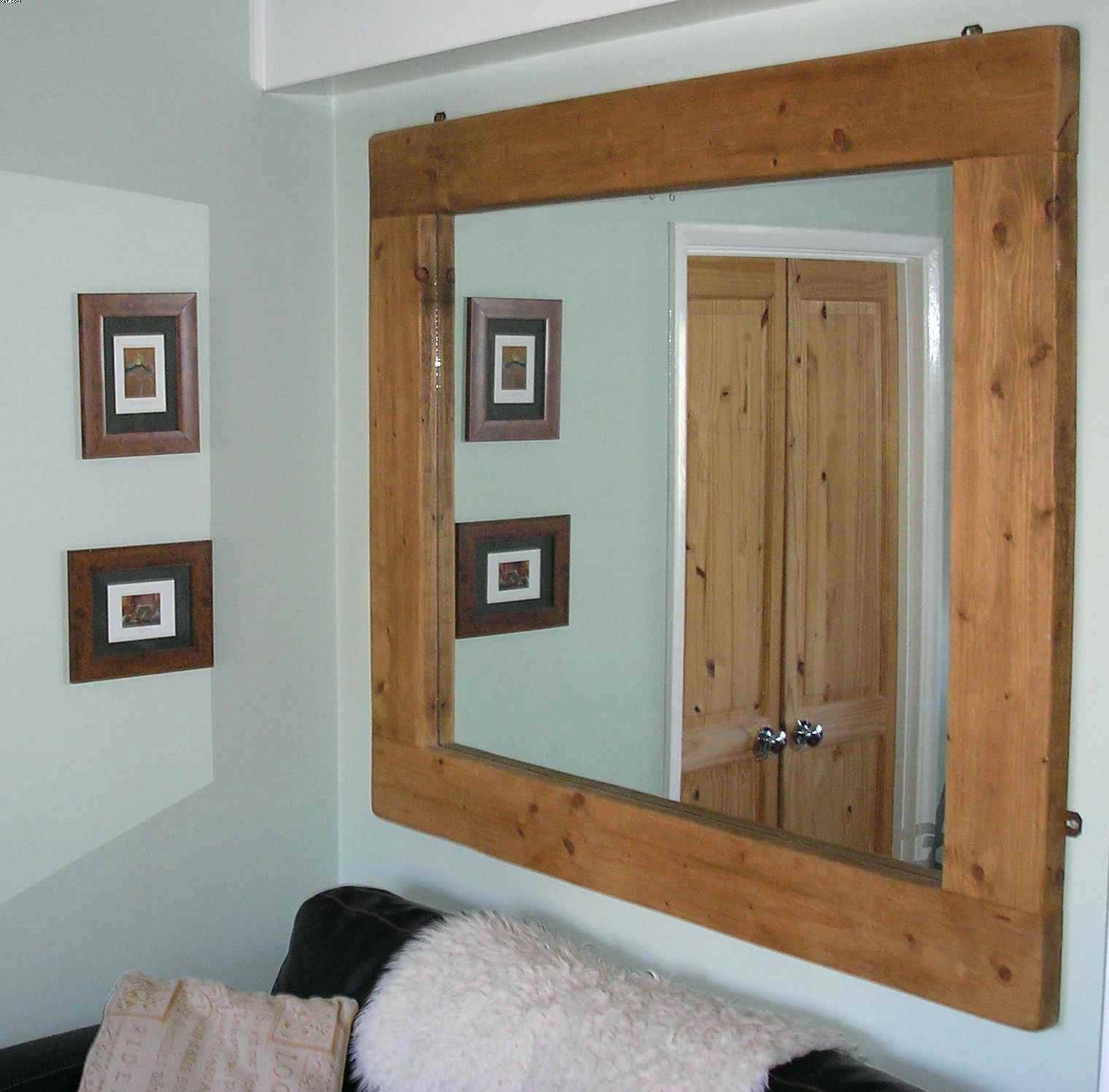 Large Square Wall Mirror – Shopwiz within Square Wall Mirrors (Image 16 of 25)