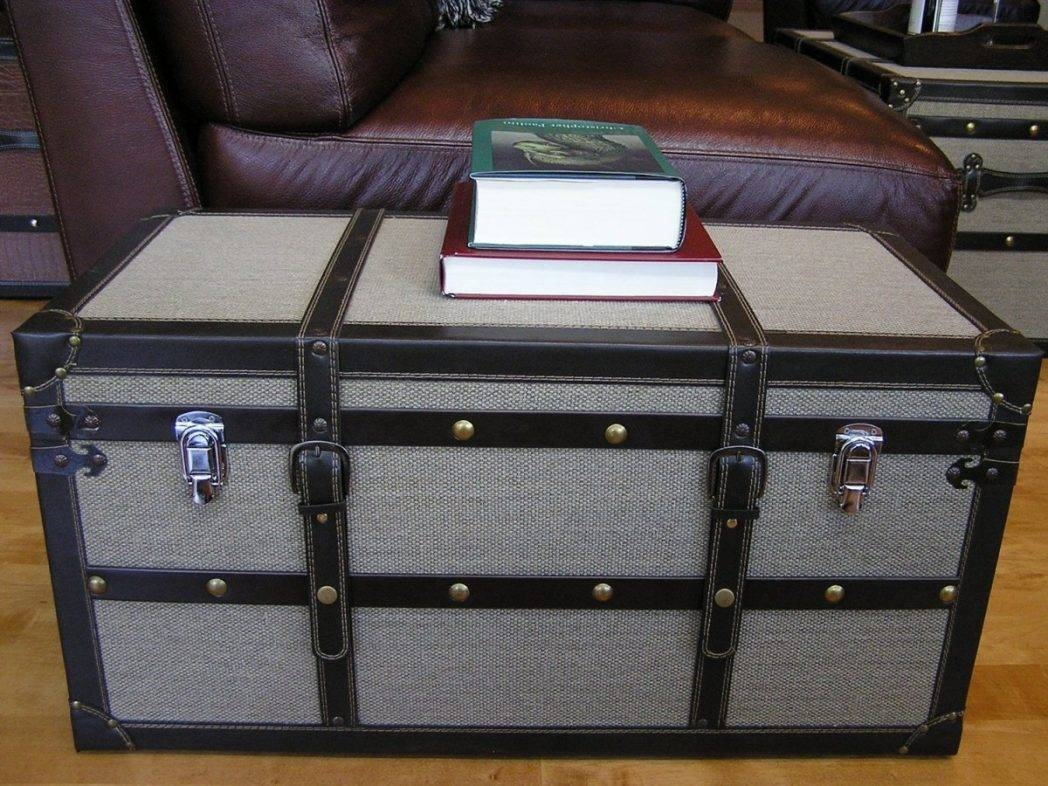 Large Trunk Coffee Tab / Thippo in Large Trunk Coffee Tables (Image 18 of 30)