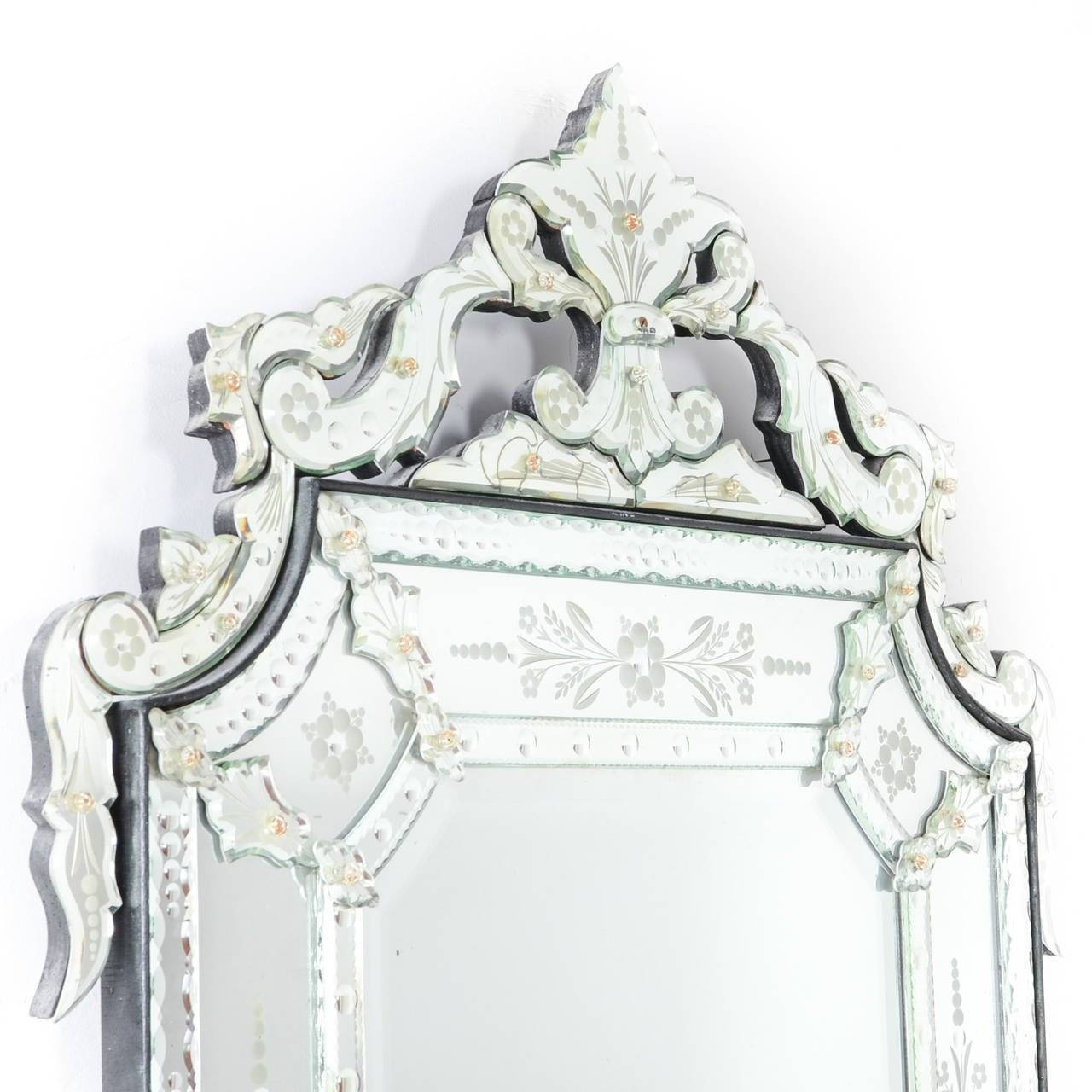 Large Venetian Mirror At 1Stdibs in Venetian Mirrors (Image 14 of 25)