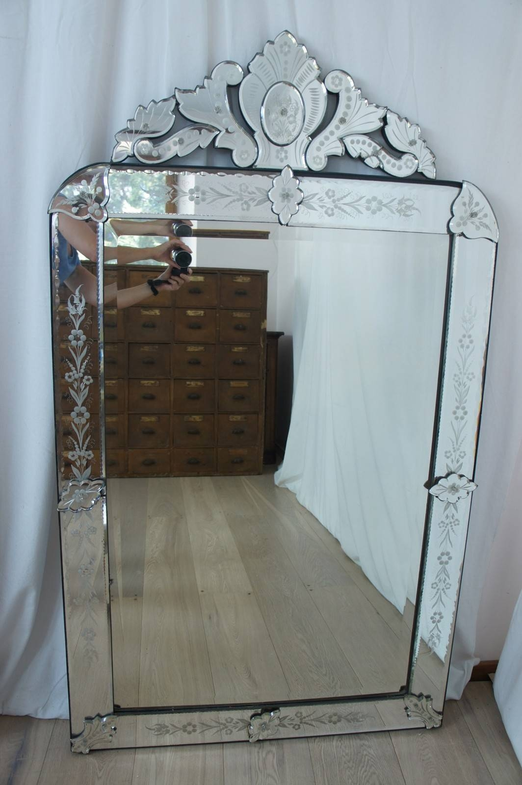 Large Venetian Mirror - The Hoarde throughout Large Venetian Mirrors (Image 12 of 25)