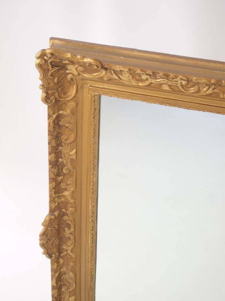 Large Vintage Gilt Framed Mirror - - with Gilt Framed Mirrors (Image 17 of 25)